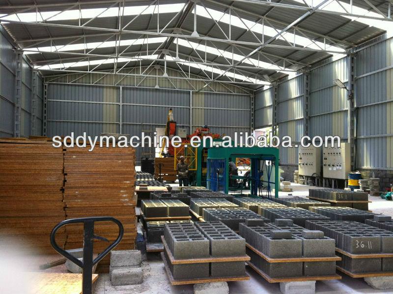 Medium Scale Industries Machines/new Type Block Maker/brick Making Plant  Qt4-15c - Buy Medium Scale Industries Machines,New Type Block Maker,Brick