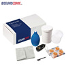 Multiple drying and cleaning tools kit for a hearing aid