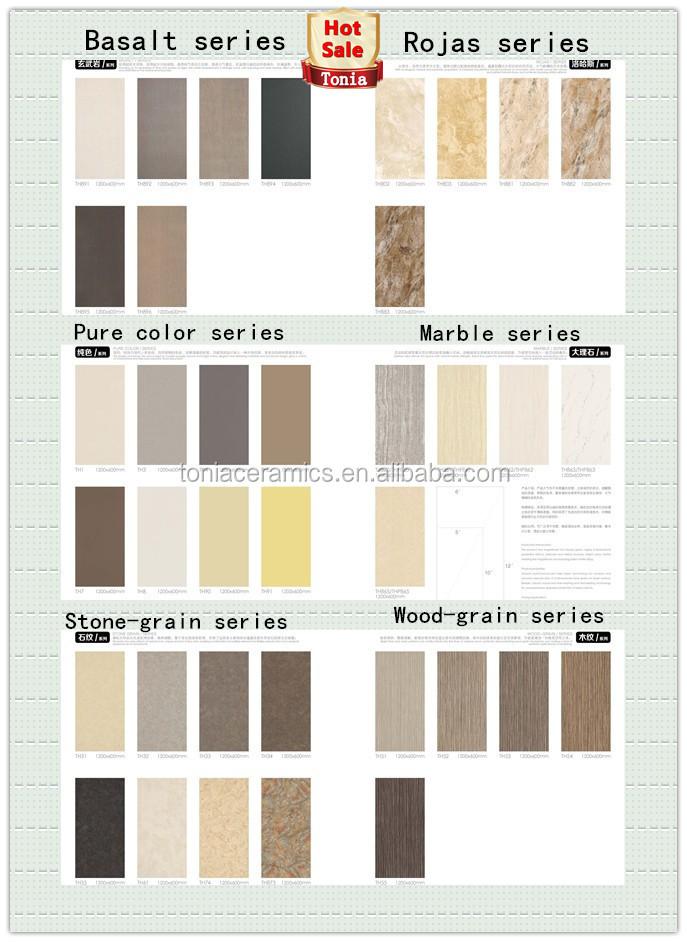 Kitchen Tiles Models foshan 600*1200*4.8mm slim porcelain tiles moroccan tiles models