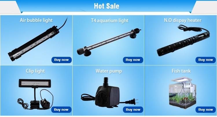 RGB Romote LED Aquarium Fish Tank Light Lighting Underwater Submersible (28cm)