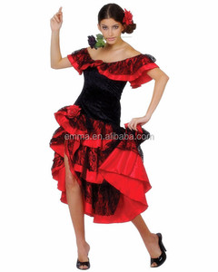 faf8006d410e Flamenco Party Costumes, Flamenco Party Costumes Suppliers and  Manufacturers at Alibaba.com