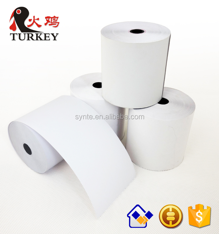 cash register thermal paper roll 65gsm 58gsm 55gsm high quality Cash Register Paper Type 58mm POS terminal printer