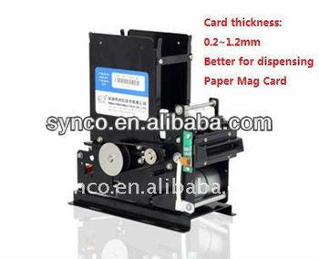 Crt-541 Parking Lot 55 X 86 Mm Paper Printed Card Dispenser ...