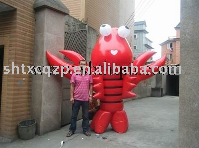 2017Giant Outdoor Customised inflatable cartoon characters for advertsing
