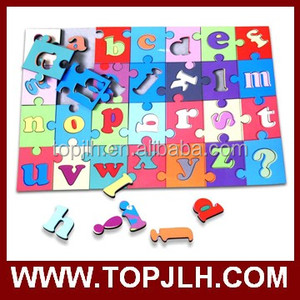 Game paper cardboard puzzle for kids, sublimation paper jigsaw puzzle