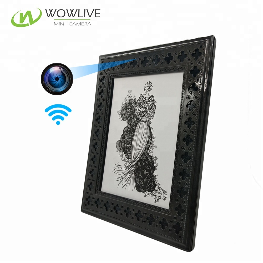 Photo Frame Wifi Hidden Spy Camera With Motion Detection Home