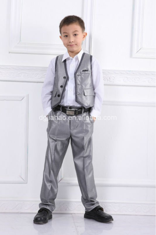 Best Selling Eco Friendly Polyester Cotton Baby Boy Formal Wear