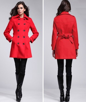 Women Winter Red Coats Long - Buy Women Winter Coats,Red Coats ...