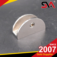 Made in china alibaba chrome glass shelf clips