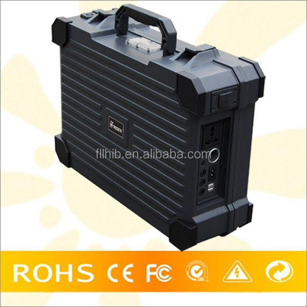 New Product Hot Sale Portable Home Outdoor Camping Use Solar Panel Kits With AC/DC Electricity