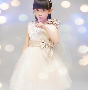 Fashion Beautiful Baby Princess Wedding Dress Kids