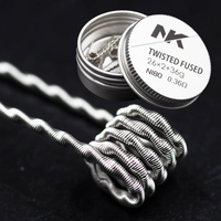 sheen 26*2+36 matal material twisted fused clapton electric heating coil control with twisted wire