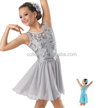 8242f5421972 2014 New !! Mb3001 Silver Girl's Sexy Dress / Lovely Stage Dance ...