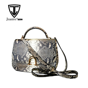 Fancy Fashion Real Python Snakeskin Leather Lady Bag Wholesale