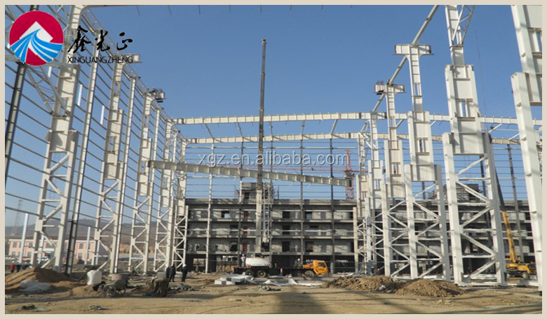 Prefab Steel Structure Warehouse Steel Frame Structure Warehouse Prefabricated Steel Structure Plant