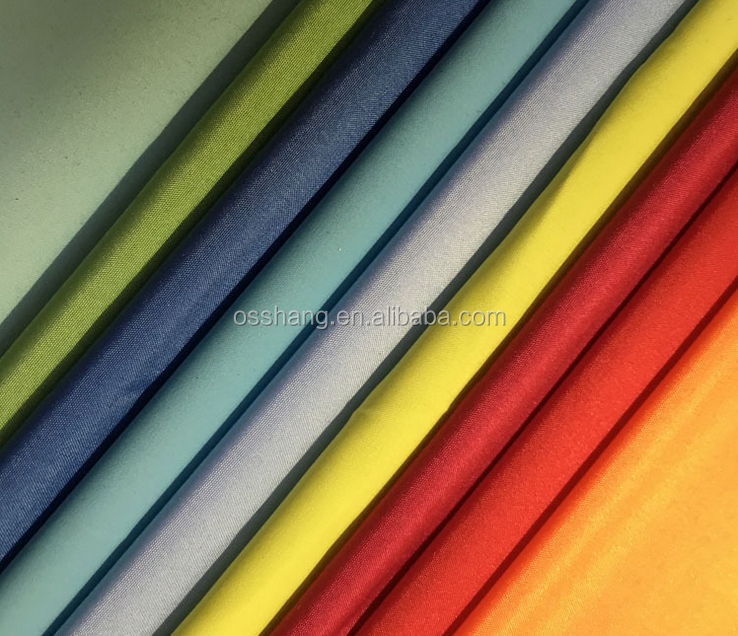hot sale 300T poly pongee 50D polyester cloth luggage lining fabric