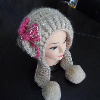 Cheap Girl Winter Earflap Hat Crochet Pattern Buy Earflap Hat