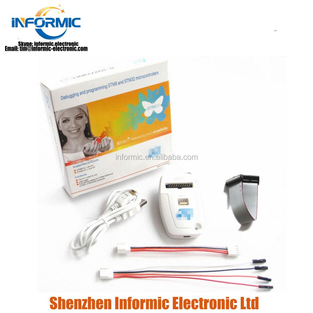 For St-link V2(cn) St Link Stlink Jlink Ulink Stm8 Stm32 Simulator  Programmer - Buy Programmer For Microcontroller At89s52 Product on  Alibaba com