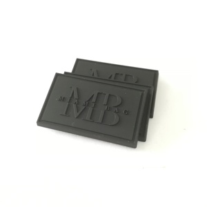 Custom Embossed Brand 3d Soft Pvc Rubber Cloth Label3d Rubber Labels