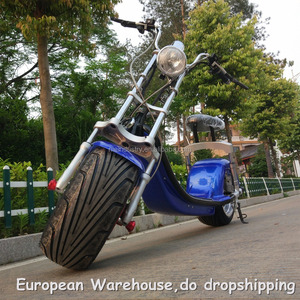 European Warehouse New arrival motorbike, 2-wheel electric motorcycle,fashion scooter 2000W 60V 12AH/20AH