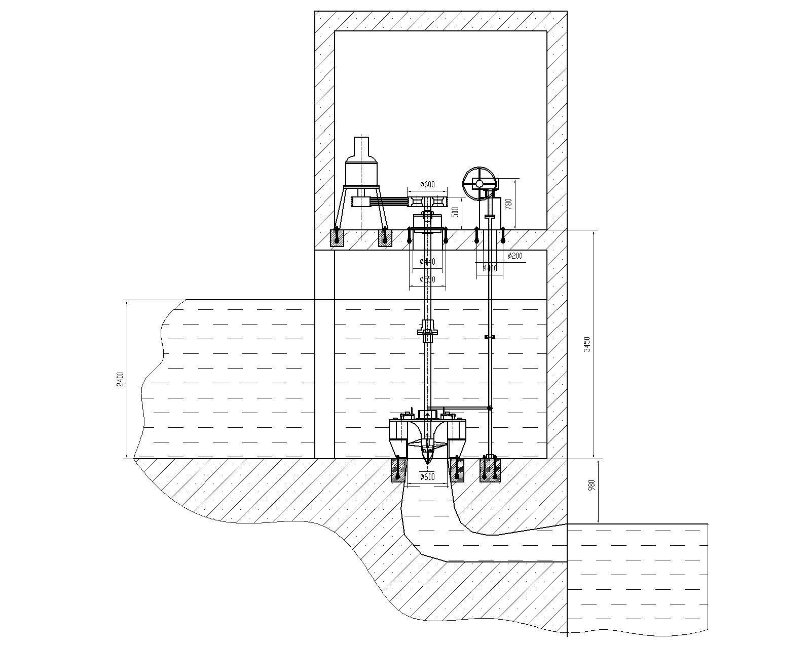 60kaplan turbine
