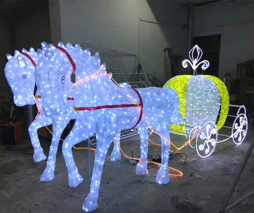Christmas Horse.Christmas Horse Carriage Decorations Buy Outdoor Christmas Decoration Horse Carriage Christmas Horse Carriage Led Horse Carriage Product On