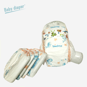 Eco friendly Cotton Material Baby Diaper Kenya soft care disposable Printed Feature Babies Age Group Baby Diaper