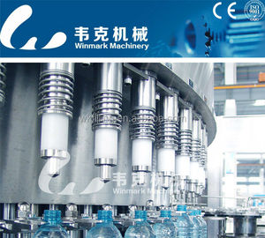 Small bottle mineral water filling machine