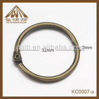 bronze plated 32mm ring binder parts