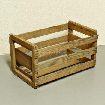 Wooden Fruit Bo Wood Vegetable Stackable Packaging Crates