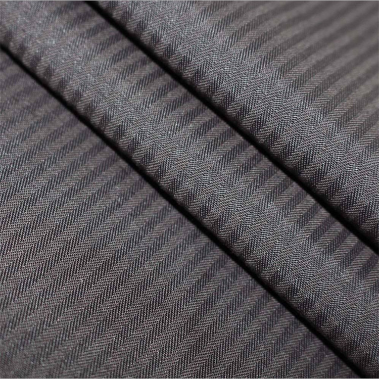 2019 China best sells 100%Polyester Pocketing elastic Fabric 100D*100D herringbone lining fabric