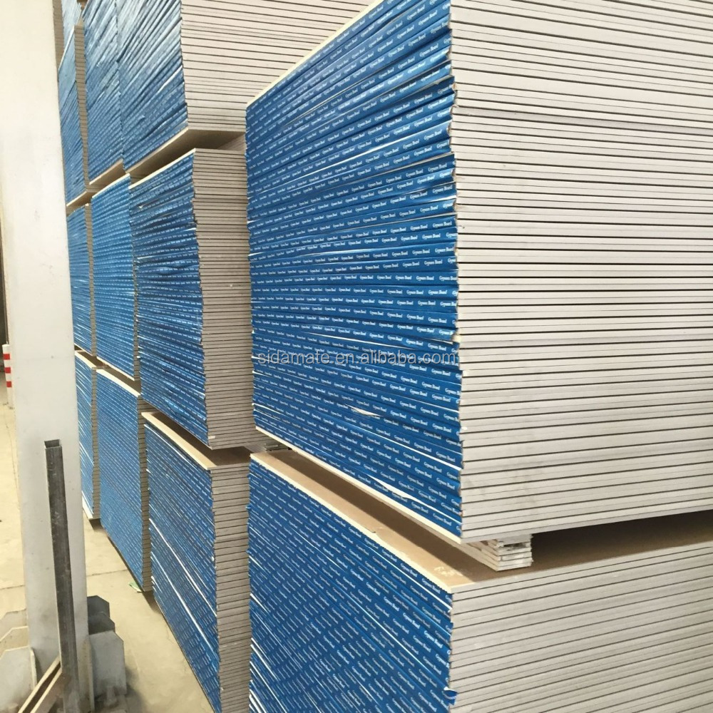 4x8 Standard Gypsum Board Partition Wall Board - Buy Partition Wall ...