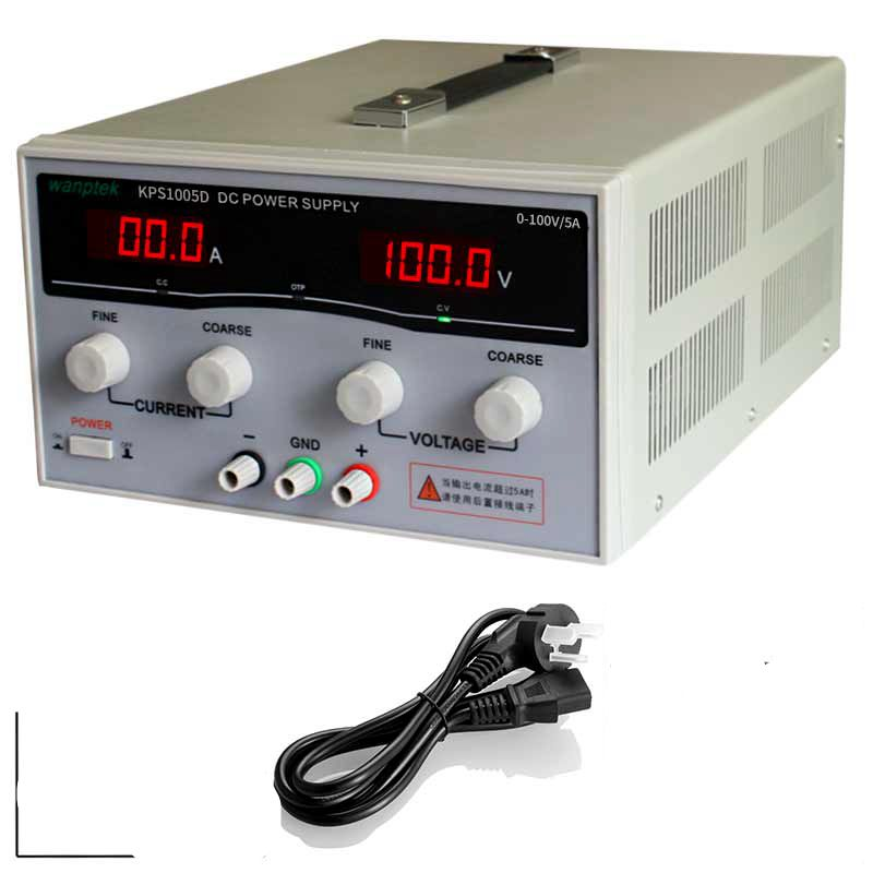 KPS1005D High Precision High Power Adjustable LED Display Switching DC Power <strong>Supply</strong> 220V 0-100V/0-5A For Laboratory and Teaching
