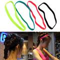 Free Shipping Women Men yoga hair bands Sports Headband Anti slip Elastic Rubber Sweatband Football Yoga