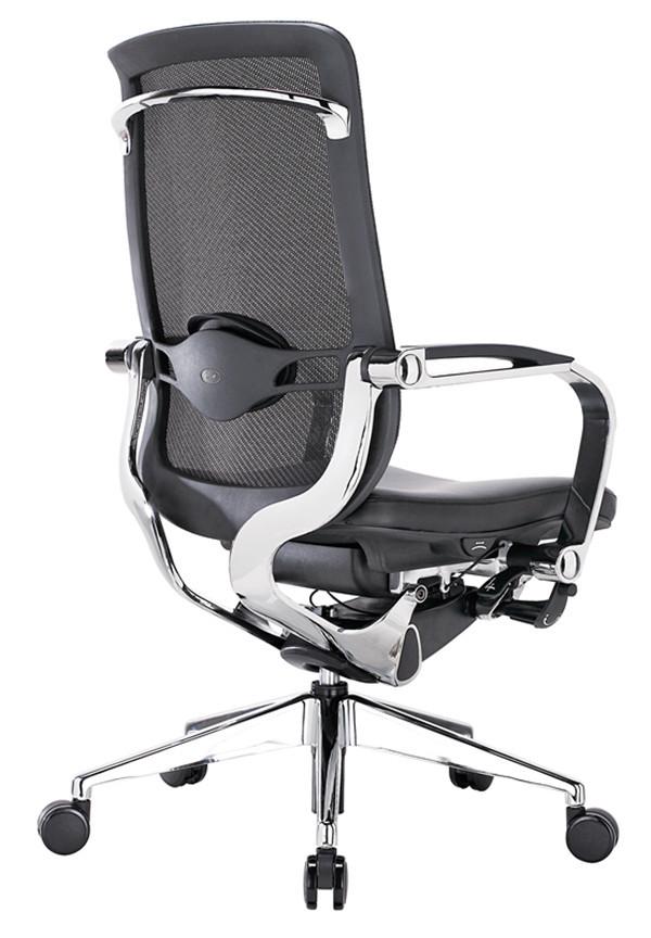 Lumbar Support High Tech Modern Boss Leather Office ChairLumbar Support High Tech Modern Boss Leather Office Chair   Buy  . High Tech Desk Chairs. Home Design Ideas