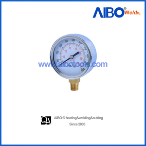 pressure gauge bottom entry accuracy class 1.6