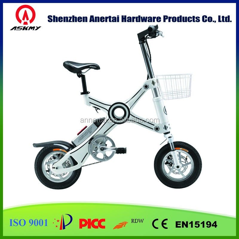 2016 Portable Electric Bike/Electronic Bicycle/Mini Folding E-bike/Ebike