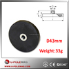 Super Quality NdFeB Rubber Coated Magnet with Screw Hole