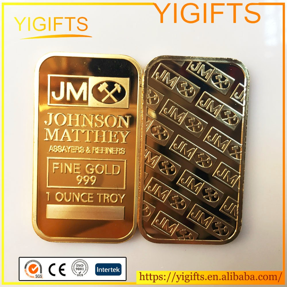 Wholesale 1 Oz Bullion Gold Bar Jm Johnson Matthey