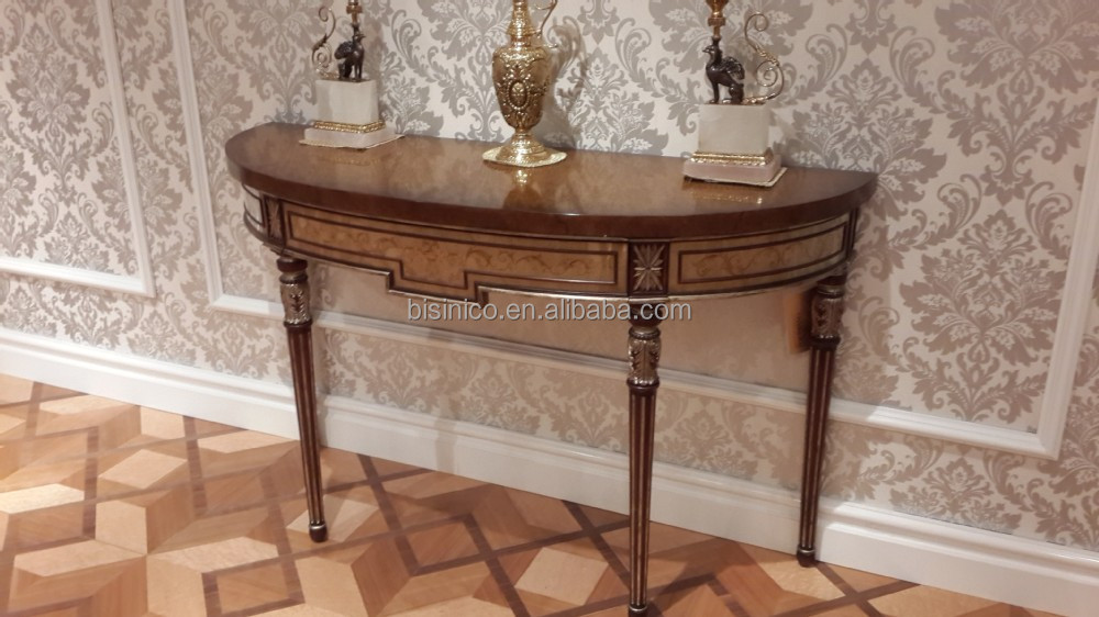 gold painted furnitureExquisite Wood Carving Console CabinetTraditional Lacquer