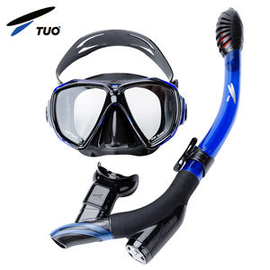 TUO Underwater Sports Equipment Fashion Snorkeling Scuba Diving Snorkel Mask Glass Frame
