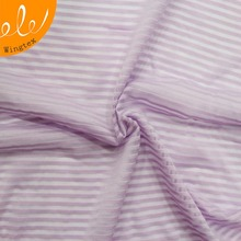 100g 93 Polyester 7 Spandex jacquard Stripe Knitted Fabric