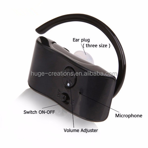hearing loss Analog rechargeable BTE hearing aid