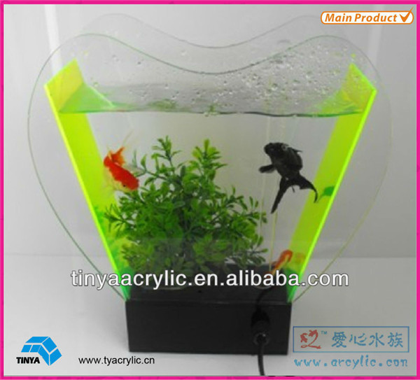 Coffee Table Fish Tank/glass And Marble Fish Tank Coffee Table ...