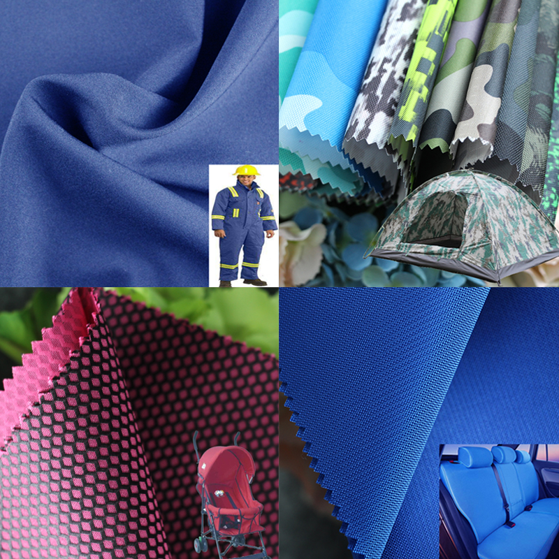 100% polyester 300D hexagon bag drawstring bag backpack PVC  coating waterproof oxford fabric
