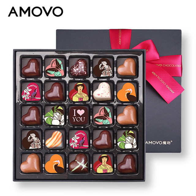 AMOVO wholesale 100% pure cocoa butter celebrations candy and chocolate