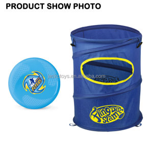 Disc Slam Flying Disc Toss Toy Outdoor Backyard Flying Disc Dunk Game Set