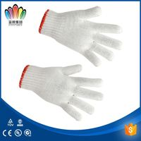 FT SAFETTY Cotton knitted gloves saudi market, Working Gloves for SA market with cheap price