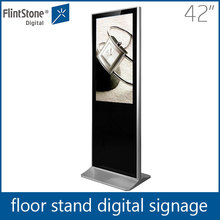 "Flintstone 42"" lcd touch screen digital advertising board,floor message merchandising display"