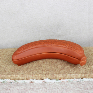 Terracotta Candy dish plate, Banana Shape